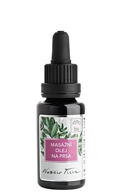 Masážní olej na prsa 20ml - Nobilis Tilia
