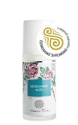 Deodorant růže 50ml - Nobilis Tilia