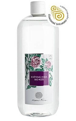 Květová voda BIO Růže (Květová voda Růžová) plast - Nobilis Tilia