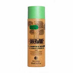 Vital šampon a sprchový gel 2v1 200 ml VEG - pro svěžest vlasů i těla - Überwood